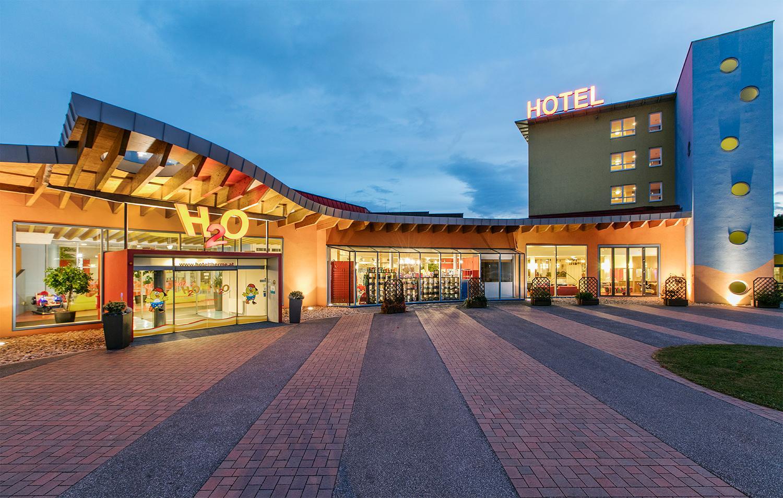 H2O Hotel-Therme-Resort - Aussenansicht