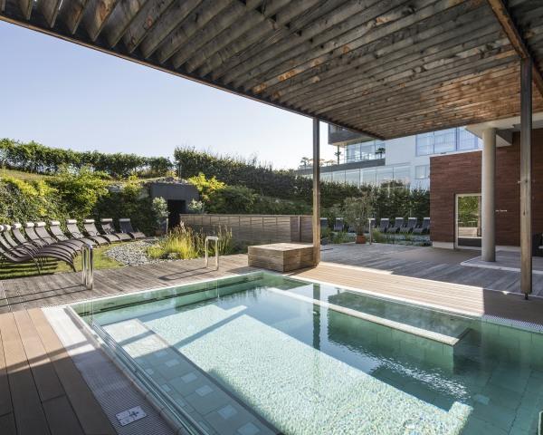 Sauna Außenpool@Spa Resort Styria