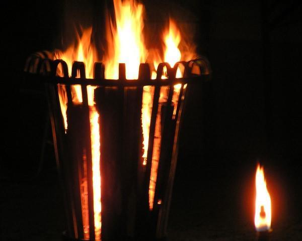 Feuerkorb@Lederer
