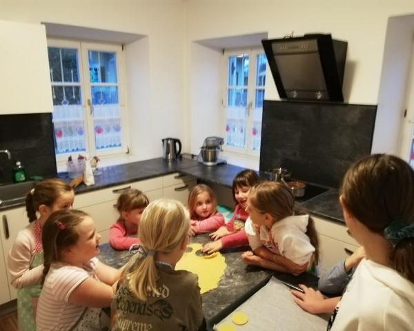 Kekse backen mit Kinder@Klamm