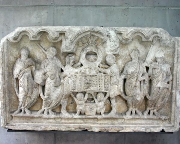 Römersteine im Museum