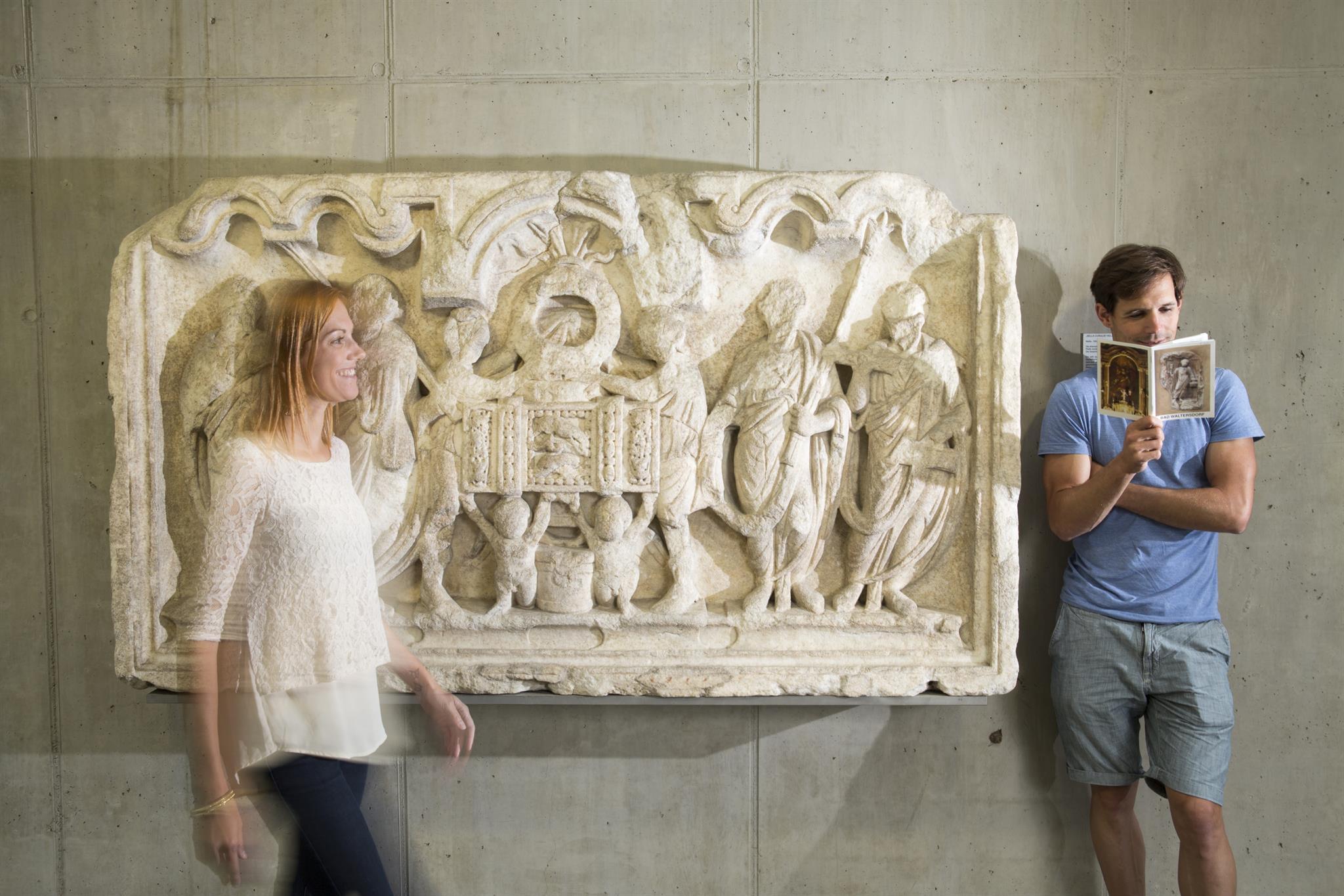 Relief im Römersteinmuseum