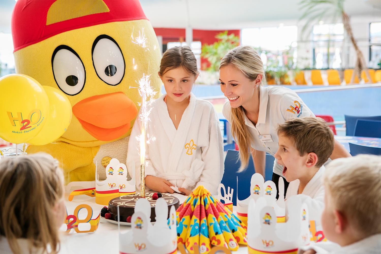 H2O Hotel-Therme-Resort - Kindergeburtstag