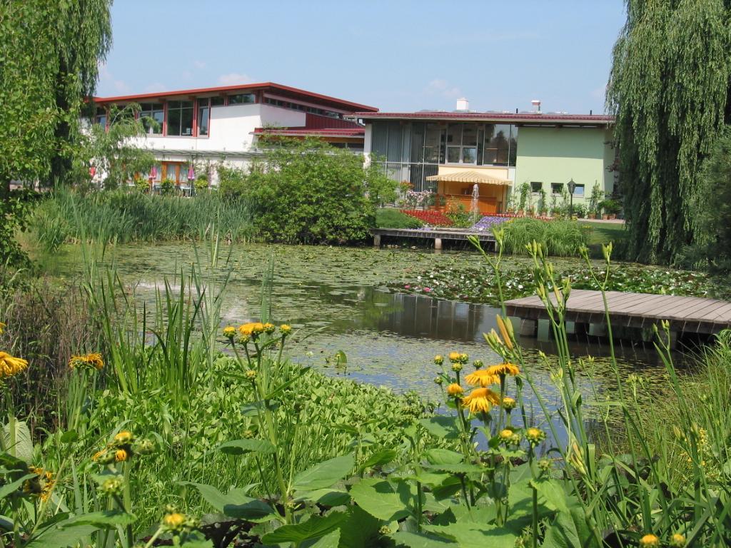 Kulturhaus im Sommer