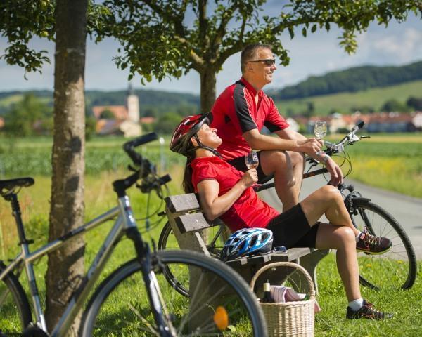 Radfahren mit Zwischenstop@Bergmann