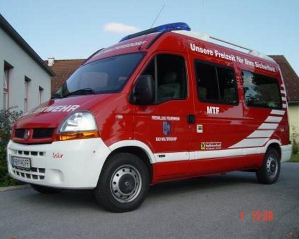 Feuerwehr-Mannschaftswagen