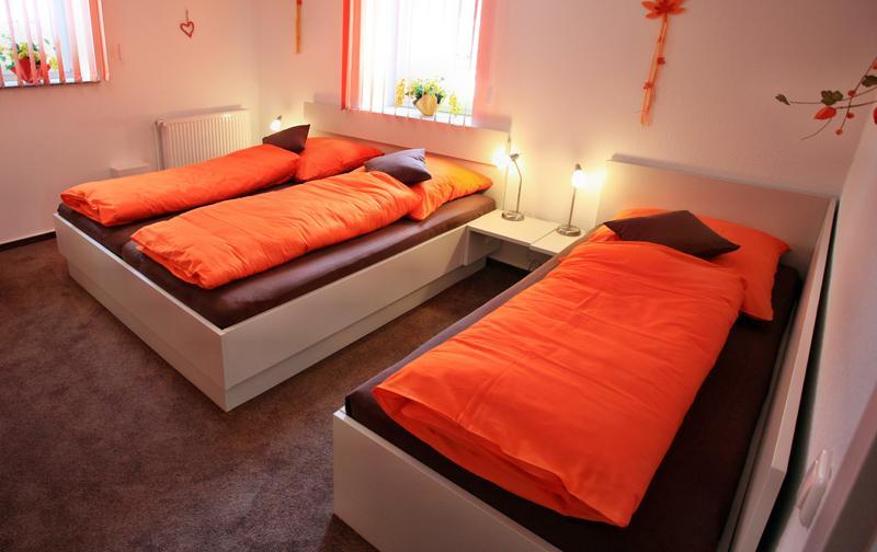 Schlafzimmer Mondschein