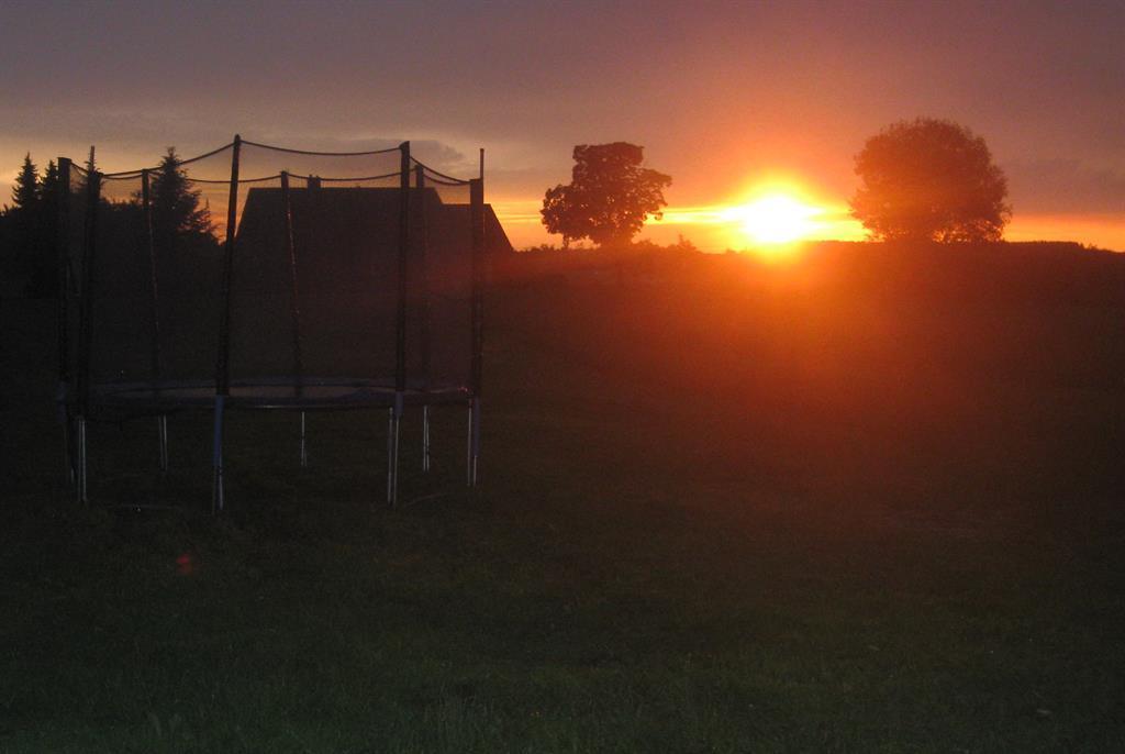 Sonnenuntergang genießen