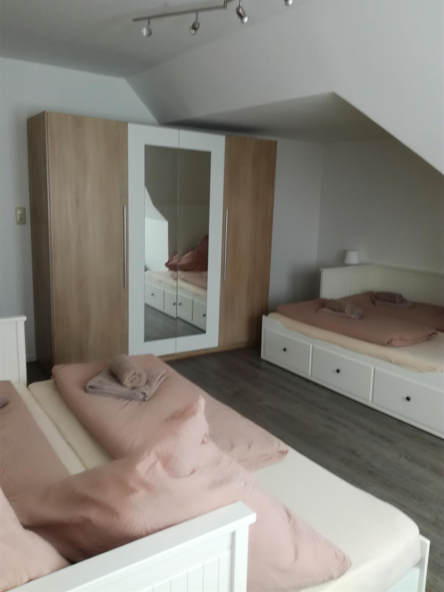 """2. Schlafzimmer """"Weiße Wohnung"""""""