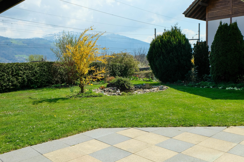 Terrasse, Garten & Teich