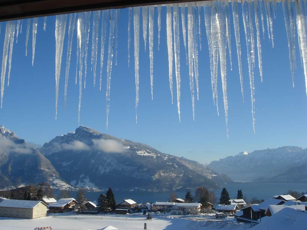 Thunersee im Winter