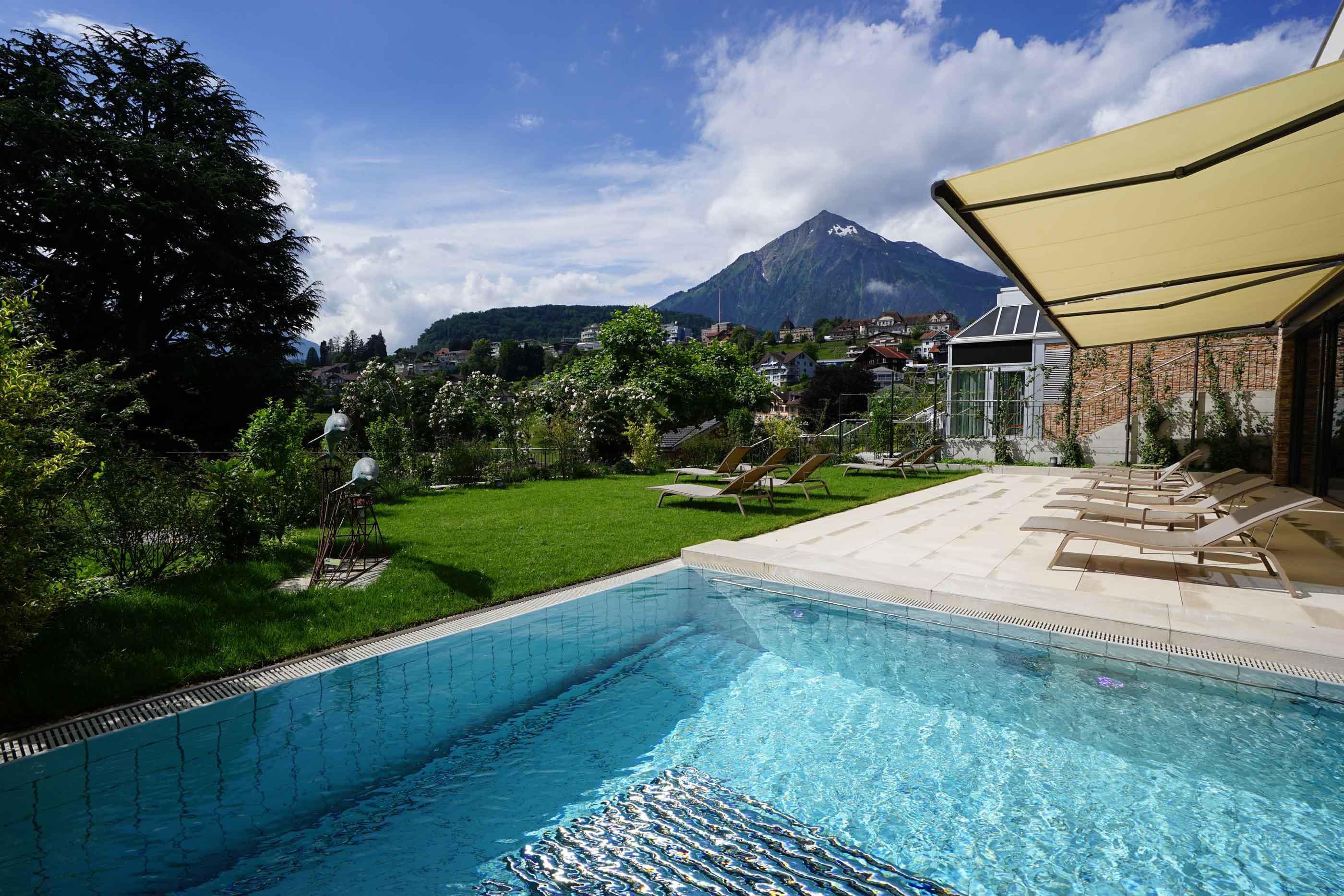 EDEN SPA: Soleaussenbad