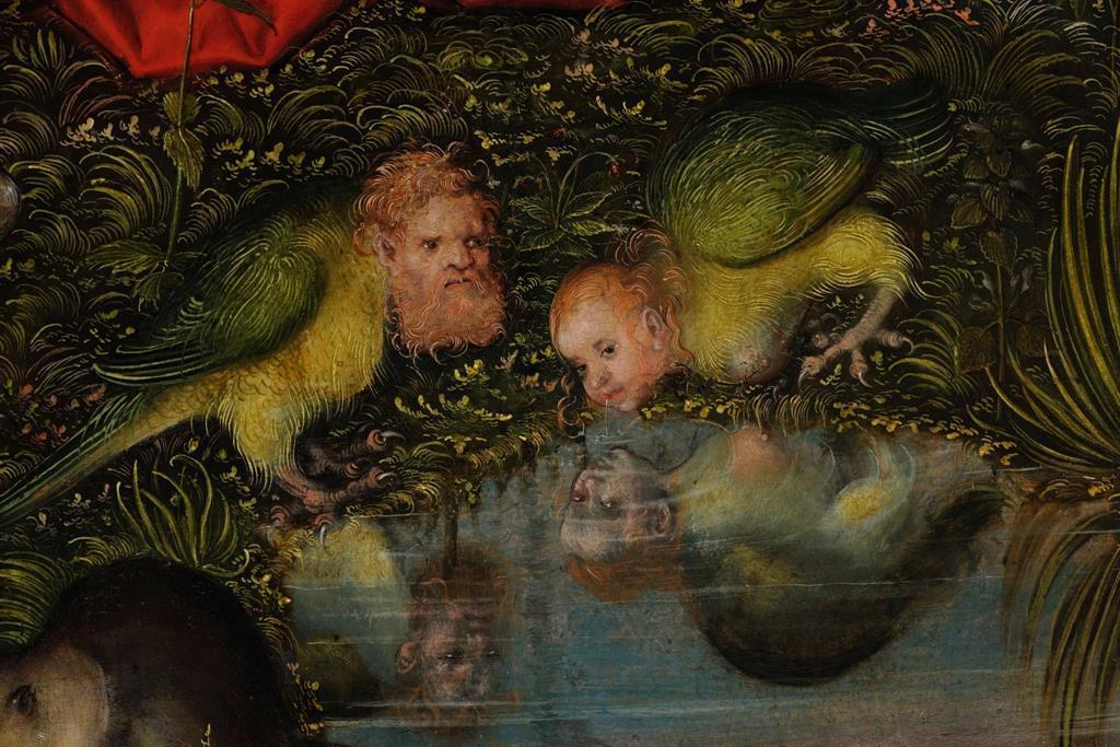 Cranach Natürlich. Hieronymus in der Kunst