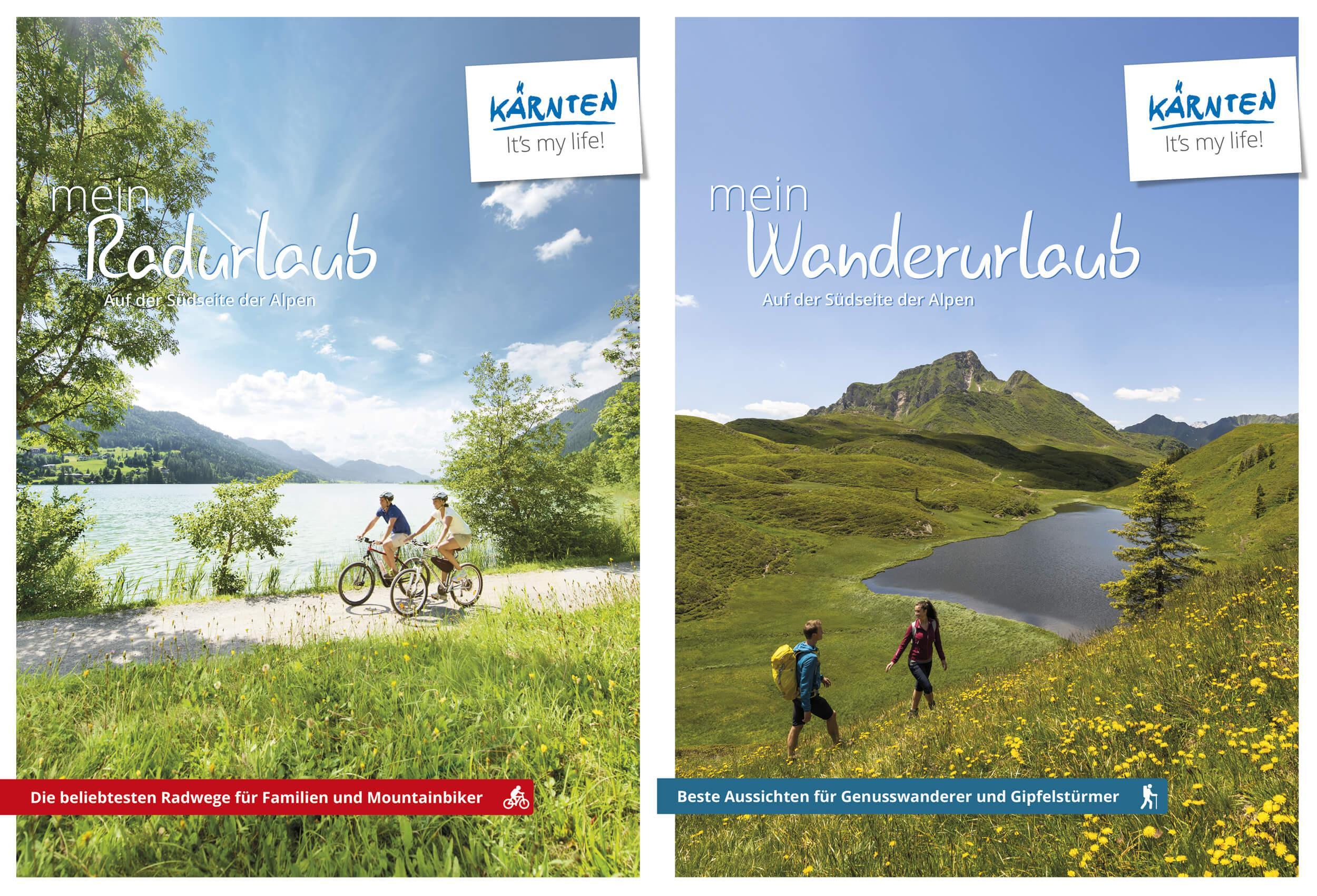 Rad- und Wanderkarte(© Kärnten Werbung)