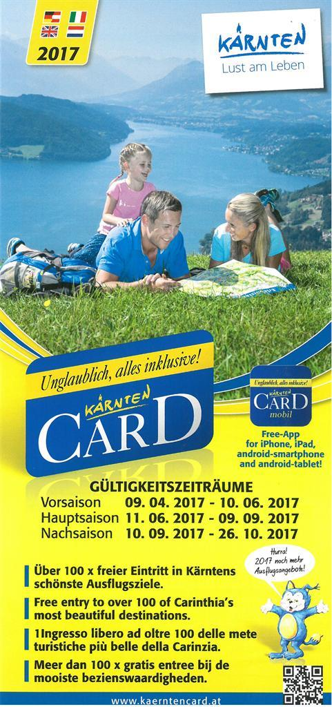 Kärnten Card Folder(© Kärnten Card)