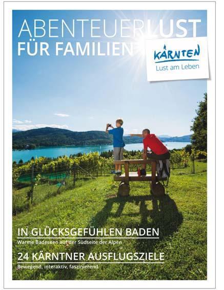 Abenteuerlust für Familien(© Kärnten Werbung)