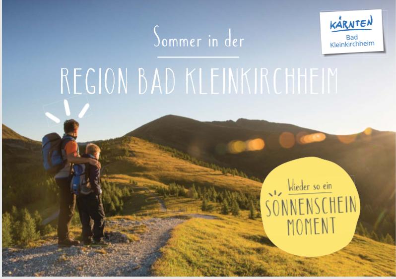 Sommer in der Region Bad Kleinkirchheim