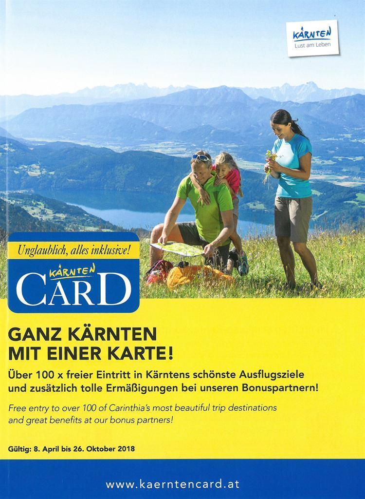 Kärnten Card Broschüre(© Kärnten Card)