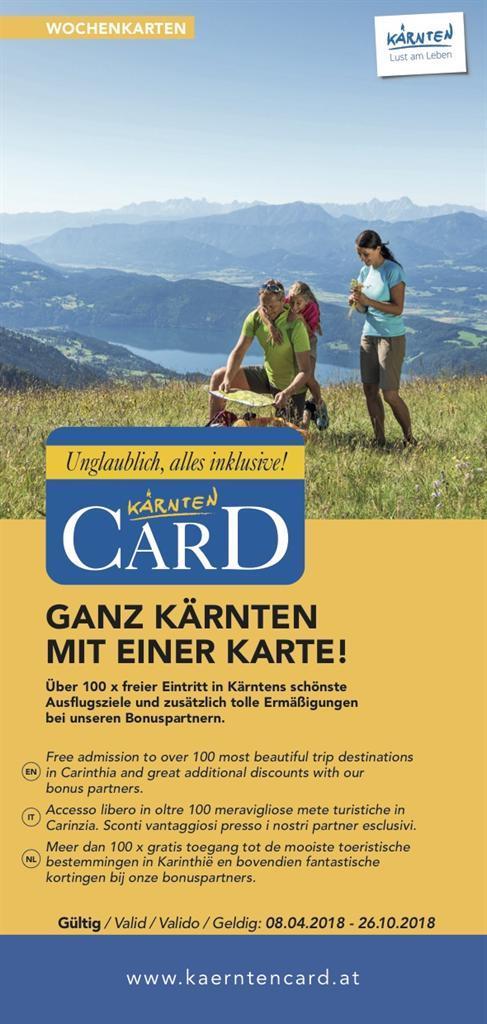 Kärnten Card Folder(© Kärnten Card)