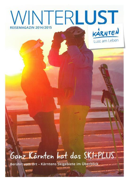 WinterLUST Reisemagazin Kärnten(© Kärnten Werbung)