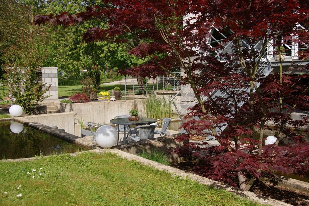 Garten und Teichanlage