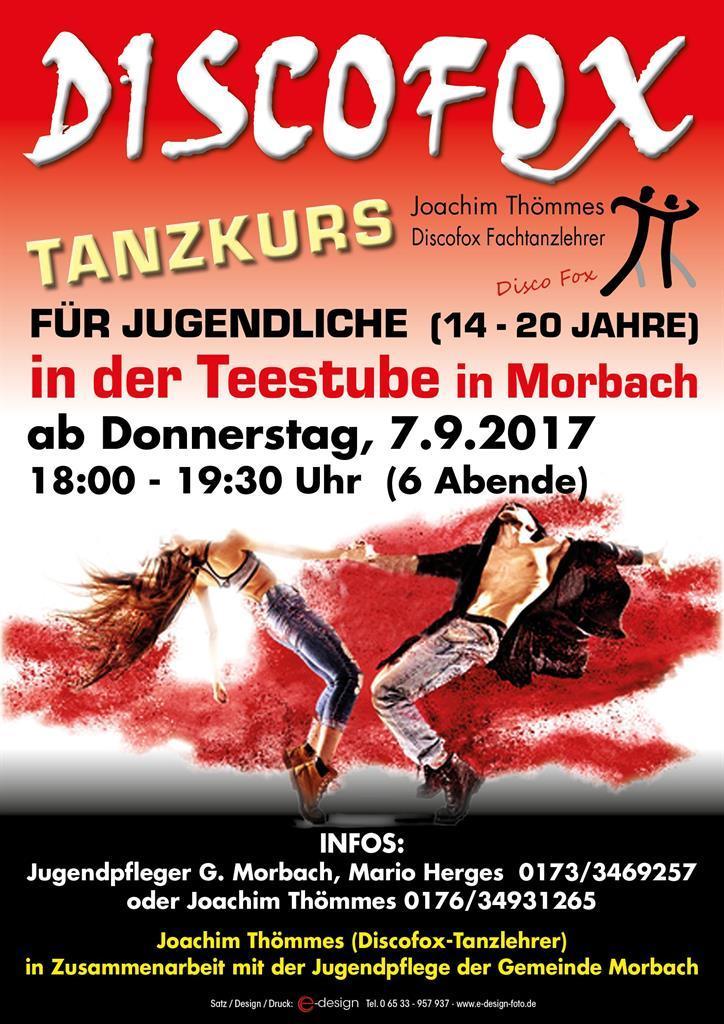 Plakat Tanzkurs