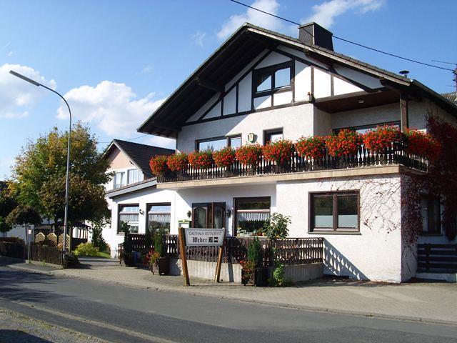 Außenansicht Gästehaus Weber