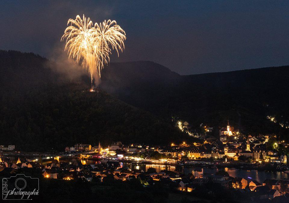 Feuerwerk zum Weinfest Traben-Trarbach
