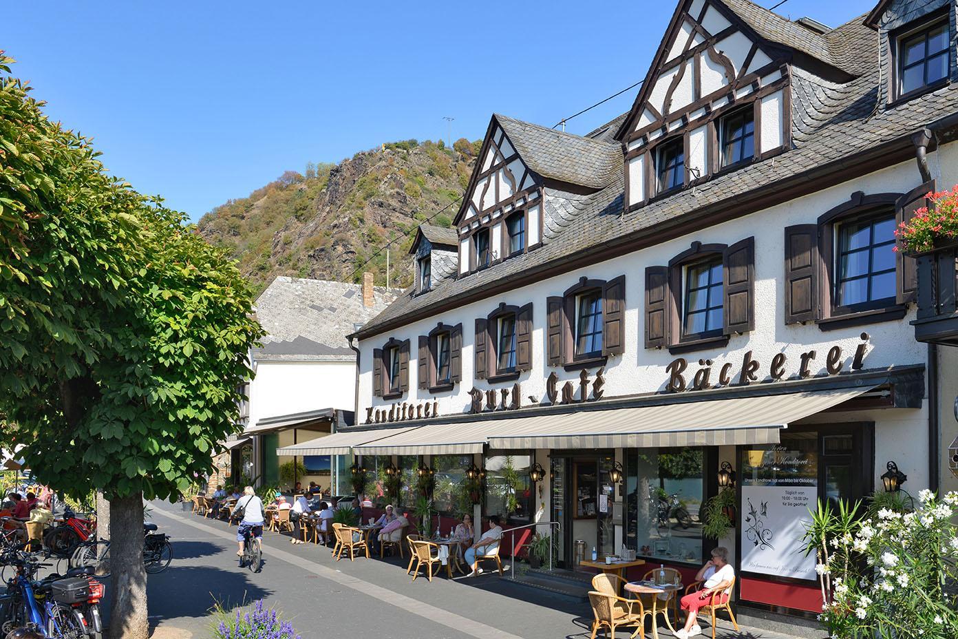 Moselhotel Burg-Café Alken - Außenansicht1