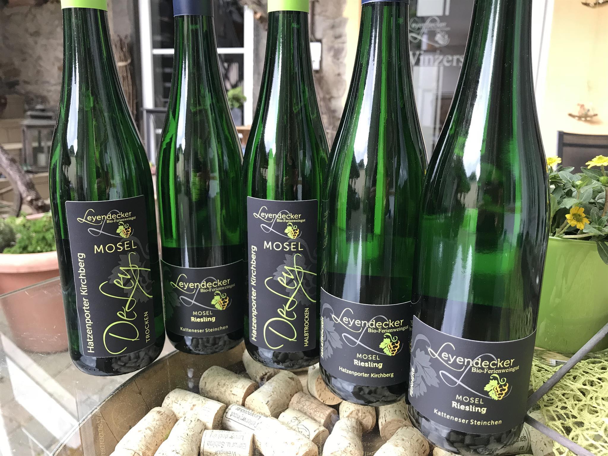 Wein aus eigenen Anbau