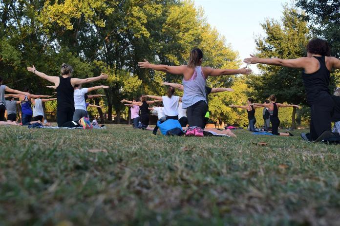 Yoga, @ Mc Clallen