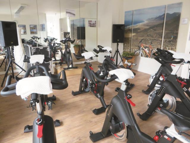 Indoorcycling in der Hochwälder Radstation