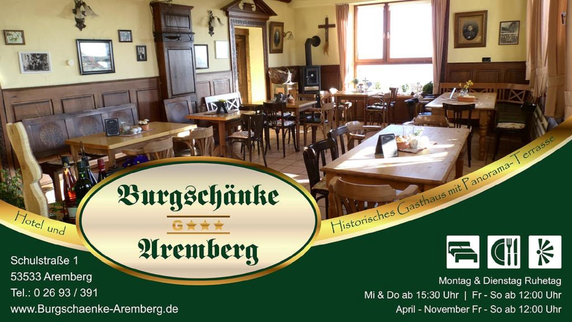 @ Burgschänke Aremberg / Boes