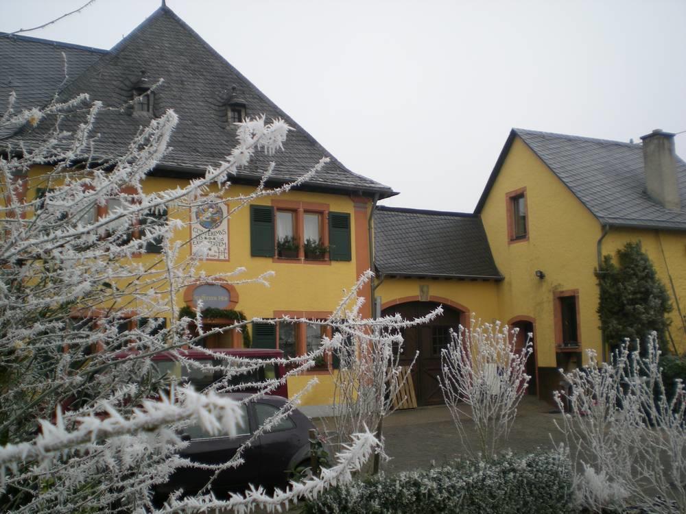 Haupthaus im Winter