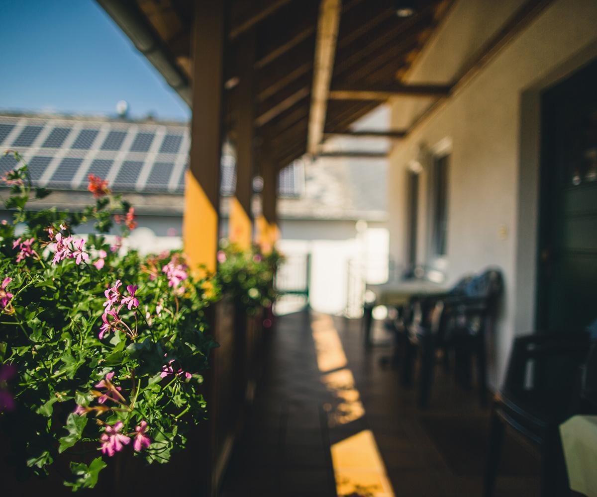 Balkon Ferienweingut Hammes