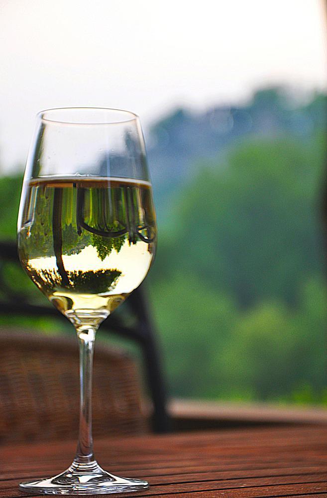 Weißweinglas