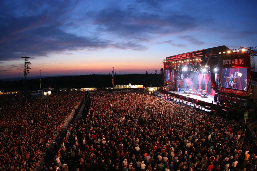 Bühne, @ Pressefoto Nürburgring