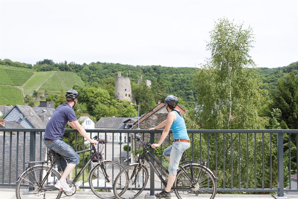 Burgruine Sommerau vom Radweg aus (5 km)