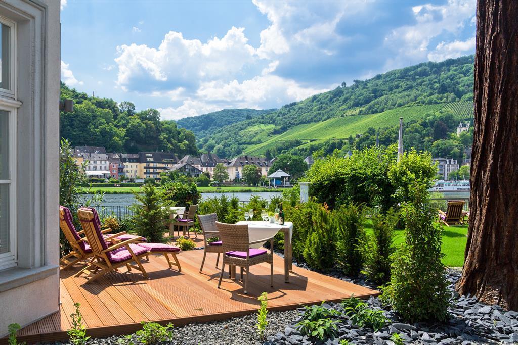 Terrasse an der Villa