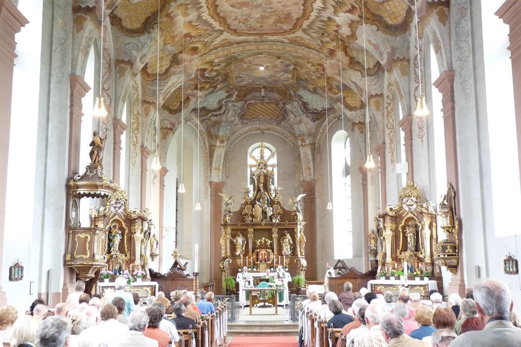 Klosterkirche Springiersbach Innenansicht