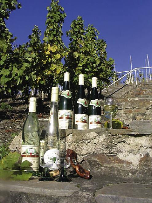 Weinflasschen