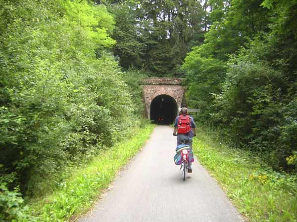 Maare Mosel Radweg bergab