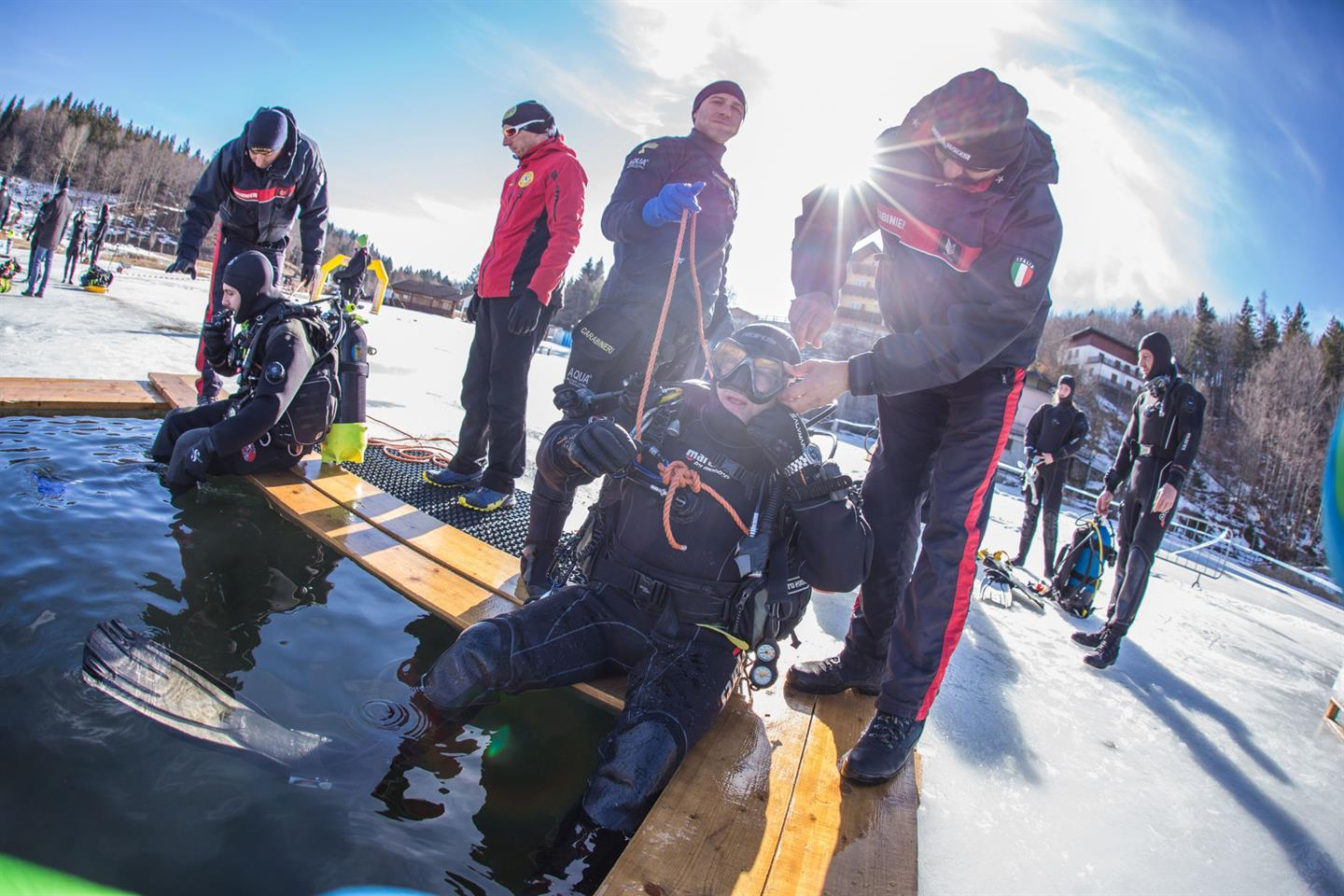 34th Stage of Diving under the Ice ANIS