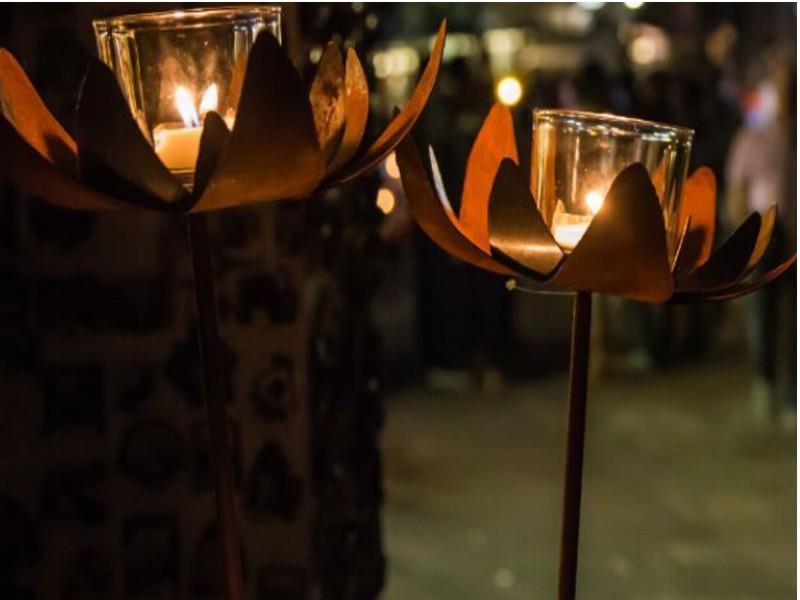 Shopping a lume di candela