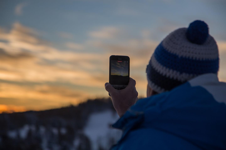 Trentino Ski Sunrise