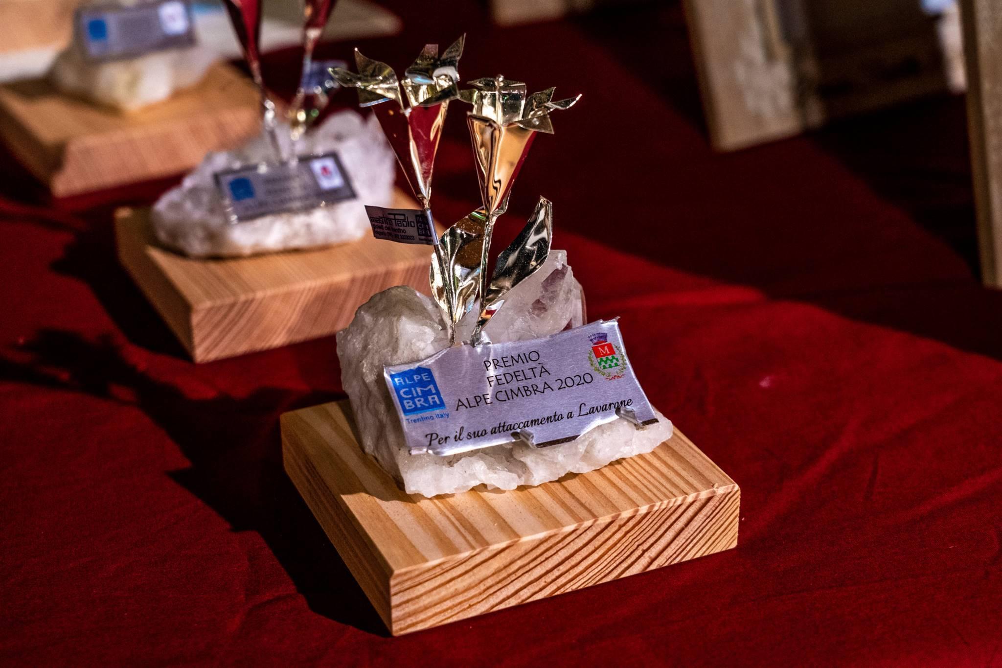Cerimonia di consegna del Premio Fedeltà