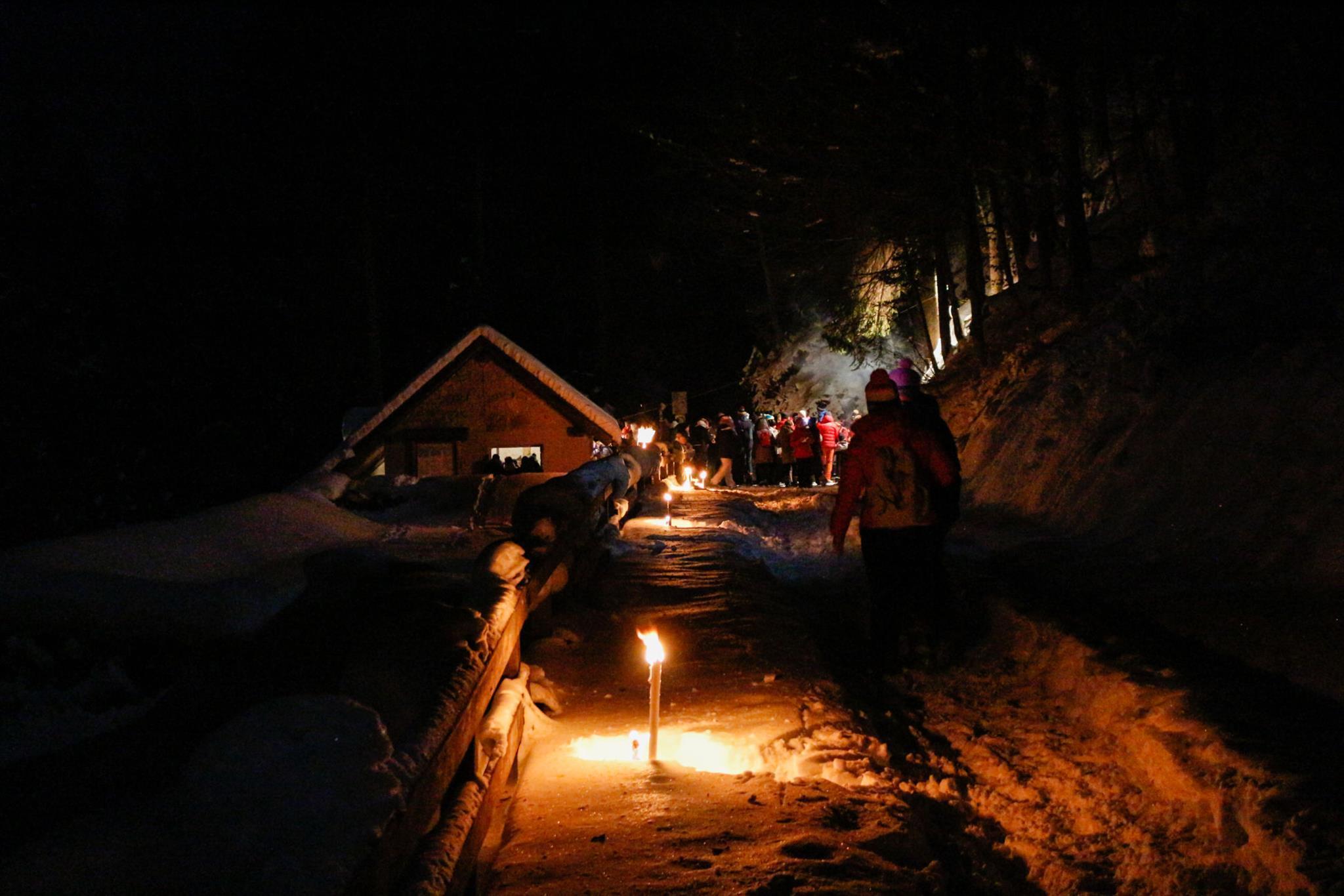 Nachtwanderung zum Sägewerk Mein