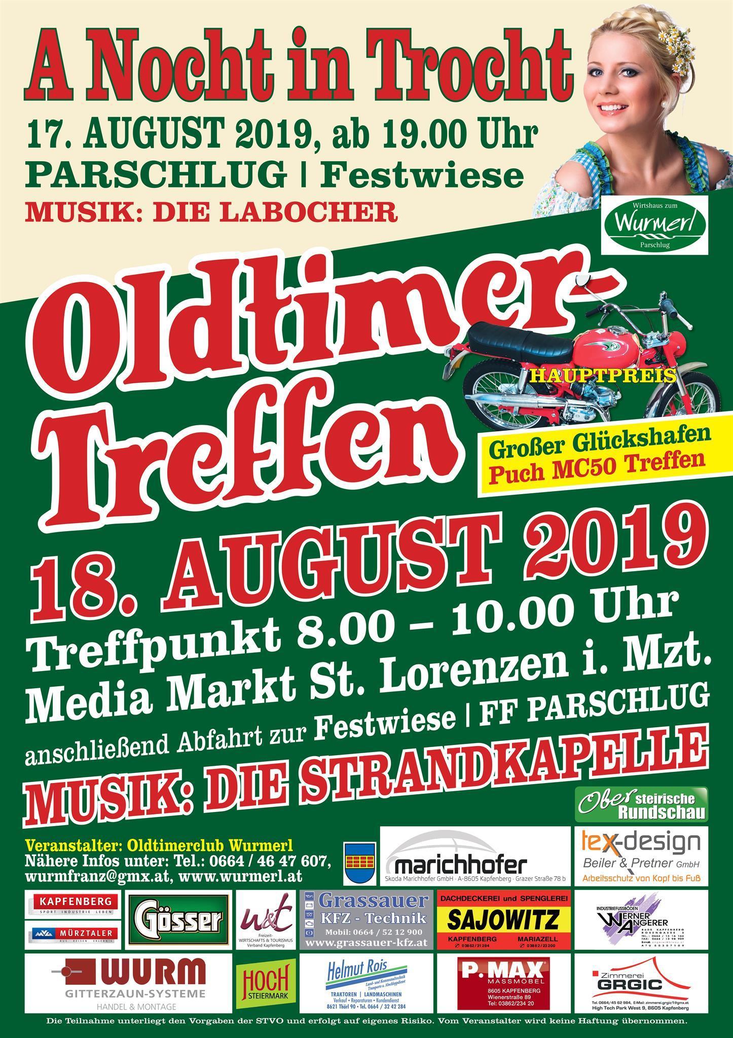 Oldtimertreffen 2019 - Hochsteiermark
