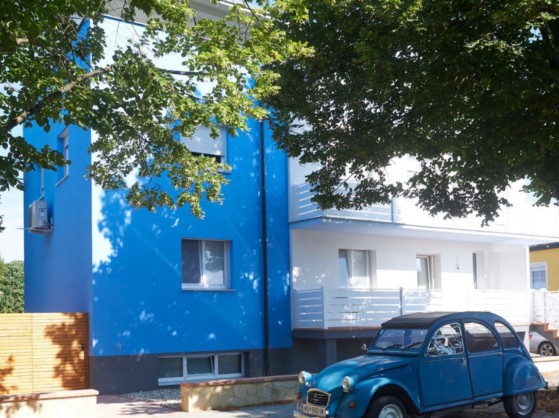 Maison de vacances Halbturn Fewo 2, Balkon, Dusche/WC, Frontseite (2067618), Halbturn, Lac de Neusiedl, Burgenland, Autriche, image 1