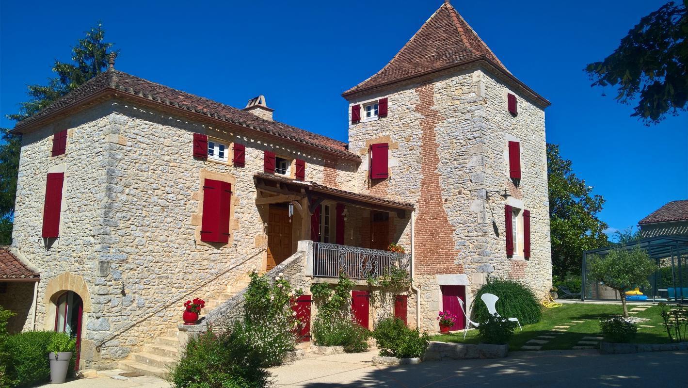 Gîte de Canourgues Gîte de Canourgues Ferienhaus in Frankreich